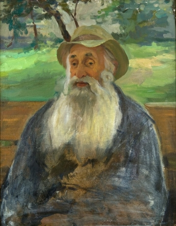 «Portrait of the artist's great-grandson Perov»; 87х70; oil on canvas; 1986.