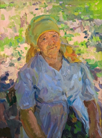 «Mam»; 80х60; Oil on canvas; 2009.
