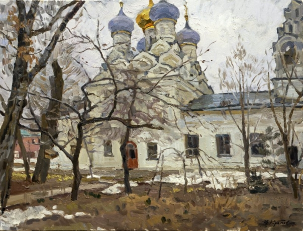 «The last snow»; 61х71; oil on canvas; 2011.