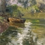 «A boat»; 50х64; Oil on canvas; 2005.