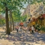 «Boulevard Saint-Germain»; 61x71; oil on canvas; 2005.