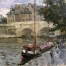 «Seine embankment»; 35x41; Oil on canvas; 1999.